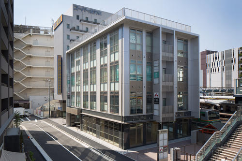 戸塚駅前ビル新築工事全景 店舗、医院