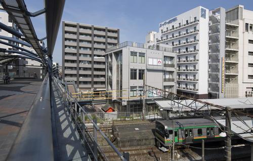 戸塚駅前ビル新築工事西側 店舗、医院