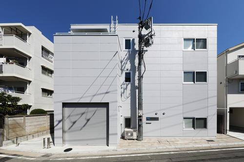 興和電気本社ビル新築工事正面