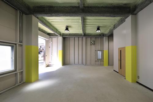 興和電気本社ビル新築工事倉庫